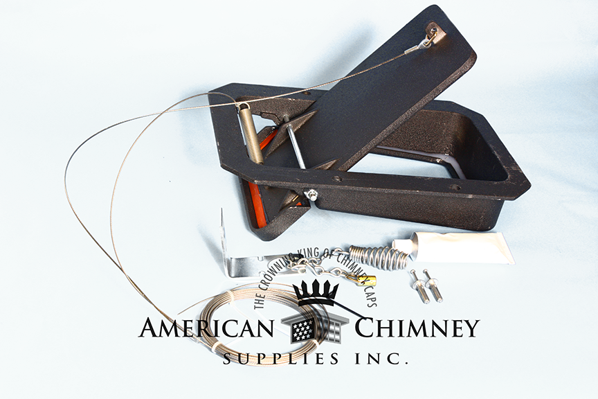 Premium Damper Cap Combo With Sealtight Top Sealing Damper