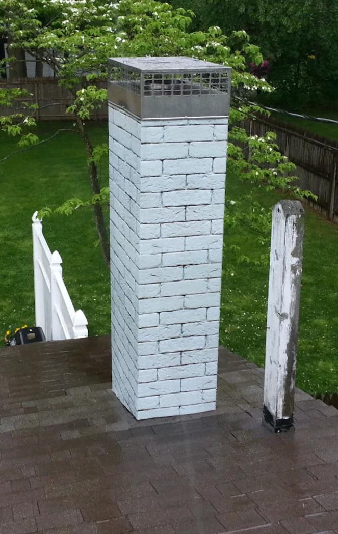 Premium Stainless Steel Pre Fab Caps American Chimney
