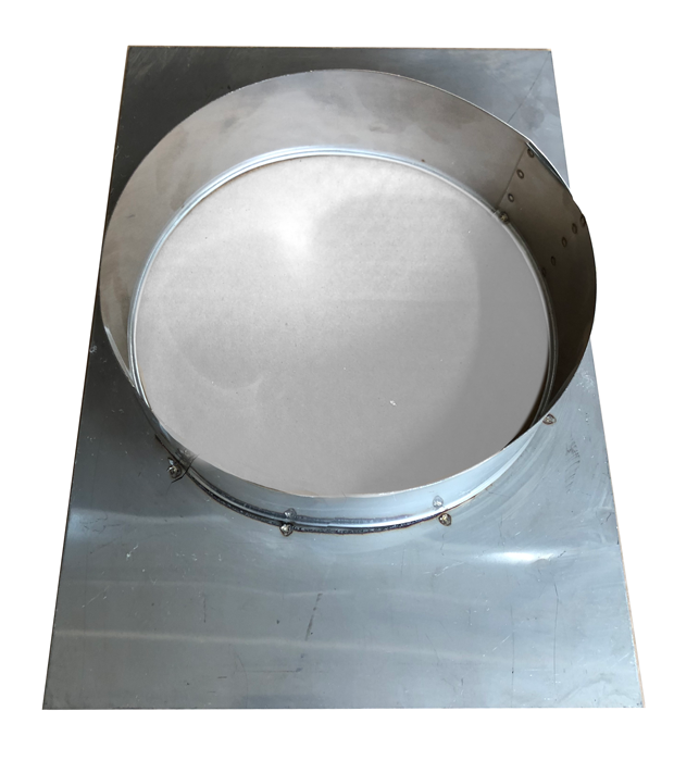 Stainless Steel Top Plate Round American Chimney Supplies