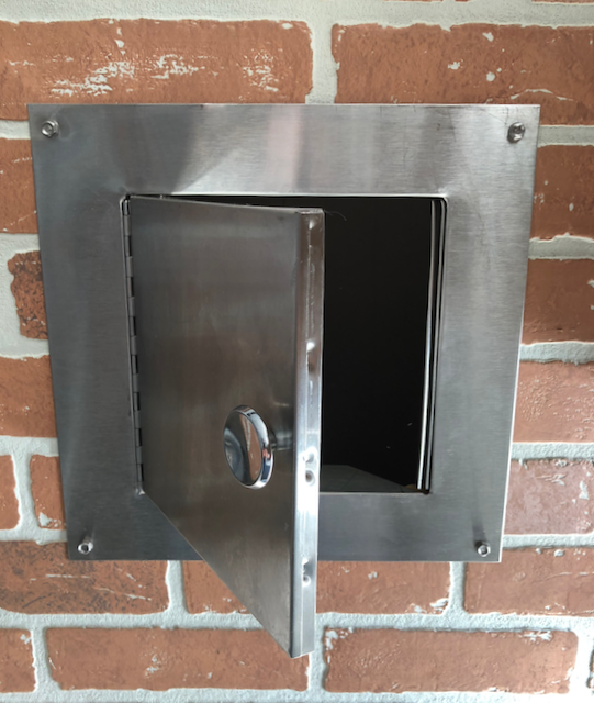 Stainless Steel Clean Out Door American Chimney Supplies